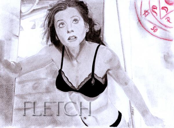 Alyson Hannigan by Fletch